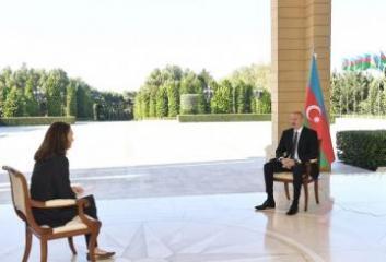"""Prezident İlham Əliyev: """"Bizim mövqeyimiz hər zaman belə olub ki, bütün həmsədrlər neytral olmalıdır"""""""