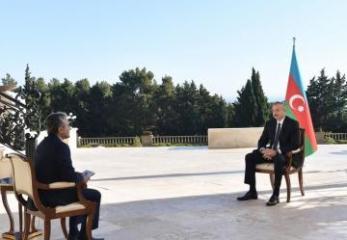 """Azərbaycan Prezidenti: """"Ermənilər atəşkəsdən sonra üç dəfə Hadruta hücum etdilər, üç dəfə də məğlub oldular"""""""