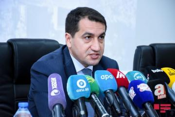 Hikmet Hajiyev: Armenia by all means tries to enlarge geographical scope of conflict