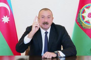 Президент Азербайджана: Мы всё равно прогоним их с наших земель