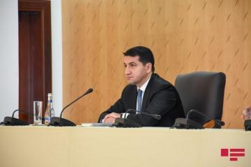 Помощник президента: Удар ракеты «Скад» по мирному населению свидетельствует о полной аморальности и шизофреническом мышлении руководства Армении
