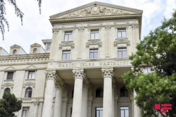 XİN: Humanitar atəşkəsin kobud şəkildə pozulması Ermənistanın münaqişənin danışıqlar yolu ilə həllinə biganə olduğunu nümayiş etdirir