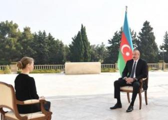 President Ilham Aliyev was interviewed by Russia's TASS news agency