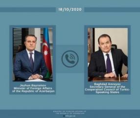 Генсек Тюркского совета осудил ракетные атаки Армении на населенные пункты Азербайджана