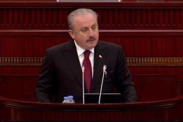 """Türkiyə Böyük Millət Məclisinin sədri: """"Minsk Qrupunun beyin ölümü artıq gerçəkləşib"""""""