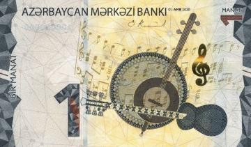 Azərbaycanda 1, 5 və 50 manatlıq pul nişanları yenilənib