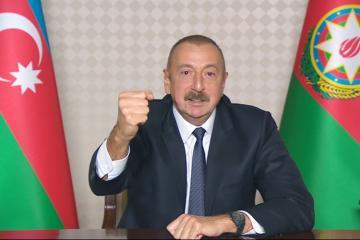 Azərbaycan Prezidenti düşmənin itirdiyi hərbi texnikanın siyahısını açıqlayıb