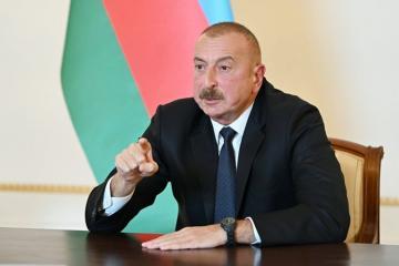 Ильхам Алиев: Если армянская сторона согласится на вывод войск, тогда давайте будем обсуждать вопрос наблюдателей