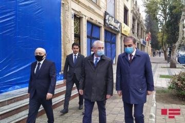 Заместитель премьер-министра Али Ахмедов посетил Гянджу