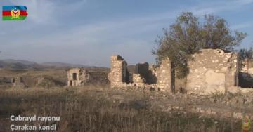 Cəbrayıl rayonunun işğaldan azad olunan Çərəkən kəndi - [color=red]VİDEO[/color]