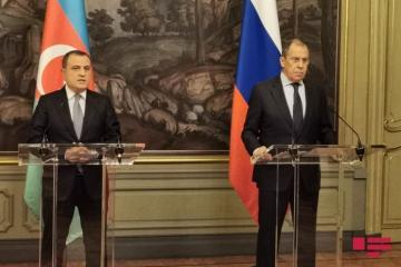 Джейхун Байрамов встретился в Москве с Сергеем Лавровым