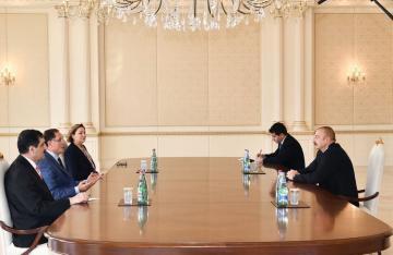 Президент Ильхам Алиев принял главного омбудсмена Турции - [color=red]ОБНОВЛЕНО[/color]