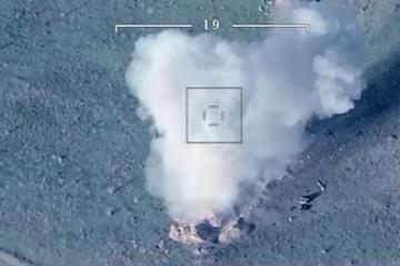 Азербайджанская армия нанесла удары по врагу - [color=red]ВИДЕО[/color]