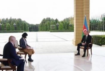 Президент Ильхам Алиев: Перспективы мирного урегулирования конфликта с нынешним правительством Армении очень далеки
