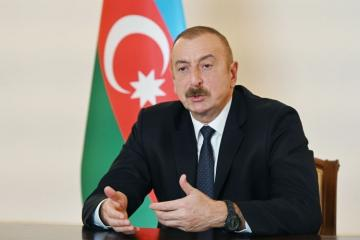 Президент: Мы освободили часть признанных на международном уровне территорий Азербайджана и продолжаем их освобождать