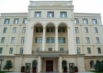 Минобороны: Информация армянской стороны об артиллерийском обстреле Ираном позиций Азербайджана является ложной