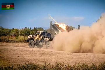Минобороны: Артиллерийские подразделения Азербайджанской Армии продолжают наносить сокрушительные удары по противнику - [color=red]ВИДЕО[/color]