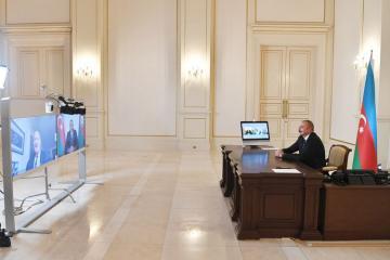 """[color=red]Prezident: """"Biz Ermənistanı döyüş meydanında məğlub edirik və onlar bizdən qaçmaq məcburiyyətindədirlər""""[/color]"""