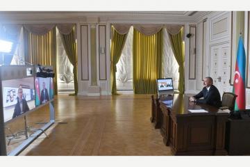"""Azərbaycan Prezidenti: """"Razılaşma beynəlxalq hüquqa əsaslanmalıdır"""""""