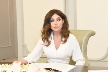 """Mehriban Əliyeva: """"Biz öz torpağımızı təcavüzkarlardan azad edəcəyik və bu cinayətlərə son qoyacağıq"""""""