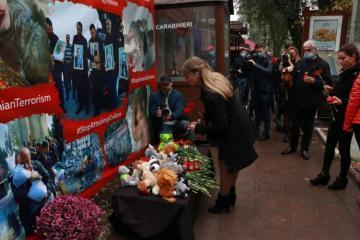 Moldovada Ermənistanın Gəncə şəhərinə raket hücumunun qurbanları anılıb - [color=red]FOTO[/color]