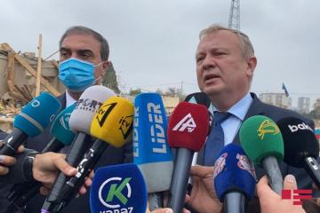 Belarus Ambassador: I was shocked by what I saw in Ganja, in the XXI century, it is inadmissible to launch a missile into the city while people are sleeping