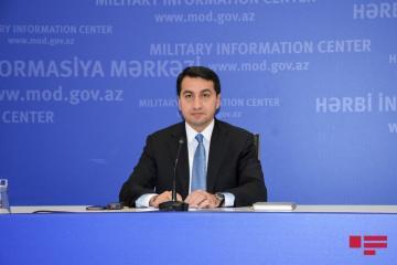 Хикмет Гаджиев: Азербайджан в одностороннем порядке выразил готовность вернуть тела, но Армения еще не ответила