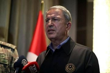 "Hulusi Akar: ""We stand by Azerbaijan with all our opportunities until the end"""