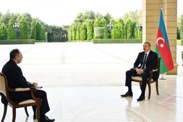 Ильхам Алиев: Азербайджанская армия на поле боя показала свое преимущество