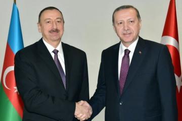 Azərbaycan Prezidenti Rəcəb Tayyib Ərdoğana zəng edib