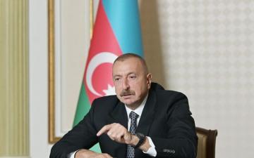 Ильхам Алиев: Это все результаты непродуманной и опасной деятельности премьер-министра Пашиняна