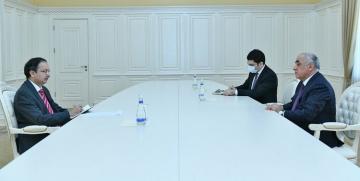 Премьер-министр Азербайджана встетился с послом Пакистана