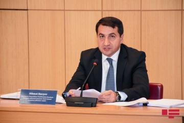 "Hikmet Hajiyev: ""Presence of PKKs, brought from Syria and Iraq in Armenian armed forces, is a fact"""
