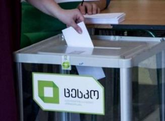Депутаты Милли Меджлиса наблюдают за ходом парламентских выборов в Грузии