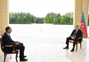 Президент Ильхам Алиев дал интервью немецкому телеканалу ARD - [color=red]ОБНОВЛЕНО[/color]