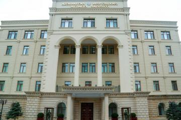 "Defense Ministry: ""Information about the shelling of Khankendi by the Azerbaijan Army is false"""