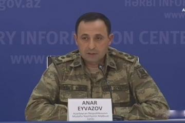 Azerbaijani MoD: Battles continue in the direction of Aghdara, Khojavand and Gubadli