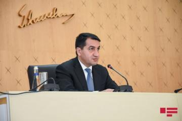 "Hikmat Hajiyev: ""Positions of Azerbaijani Army are constantly fired at from Armenia's territory"""