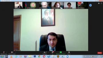 Помощник президента Азербайджана встретился с председателями 41 НПО