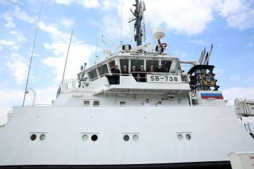 Rusiya hərbi gəmiləri Bakı limanını tərk edib