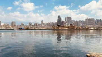 Рядом с портом Бейрута обнаружили более четырех тонн нитрата аммония