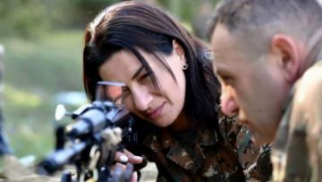 "Article entitled ""Hakobyan prepares Armenian women for attack on Azerbaijani civilians"" published on Italian media"