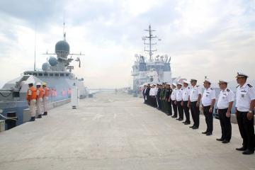 Военные корабли России покинули Бакинский порт - [color=red]ВИДЕО[/color]