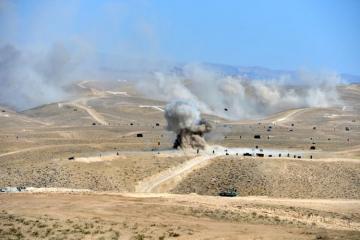 Азербайджан и Турция провели крупномасштабные военные учения в Нахчыване - [color=red]ФОТО - ВИДЕО[/color]