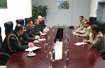 Обсуждены вопросы расширения военного сотрудничества между Азербайджаном и Пакистаном