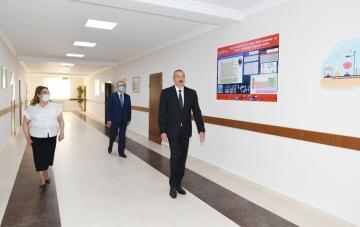 Prezident İlham Əliyev Bakıda orta məktəbin yeni korpusunun açılışında iştirak edib - [color=red]YENİLƏNİB[/color]