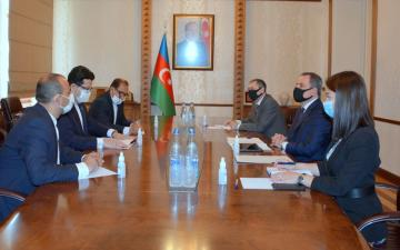 "Ambassador: ""Iran supports Azerbaijan's position regarding the issue of conflict"""