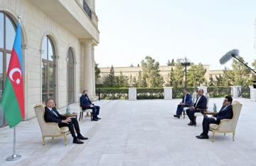 "President Ilham Aliyev: ""Azerbaijan-Iran bilateral relations are developing fast and have reached a high level"""