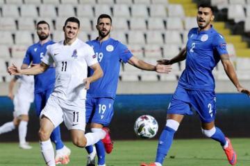 Азербайджан обыграл Кипр в Лиге наций