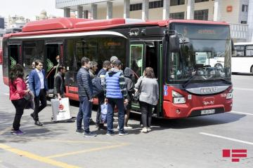 Baku State Traffic Police warns passengers, using intra-city public transport